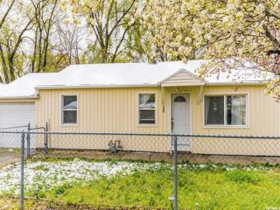 Salt Lake City Single Family Home For Sale: 280 E Rigdon Ave