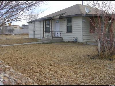 Huntington UT Single Family Home For Sale: $70,000
