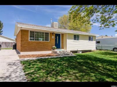 West Jordan Single Family Home For Sale: 2858 W 7500 S