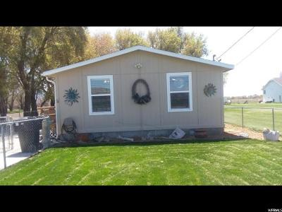 Deweyville UT Single Family Home For Sale: $140,000