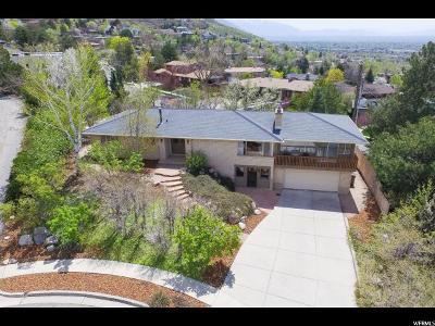 Salt Lake City Single Family Home For Sale: 2680 E Roxbury Circle S