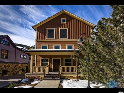Park City Single Family Home For Sale: 817 Park Ave