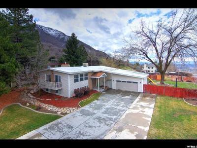 Holladay Single Family Home For Sale: 3184 E Wasatch Oaks Cir
