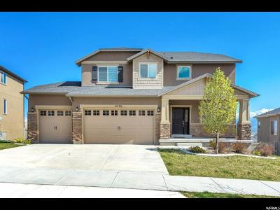 Herriman Single Family Home For Sale: 4776 W Cobblefield Dr