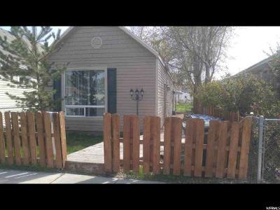 Salt Lake City Single Family Home For Sale: 857 Simondi Ave