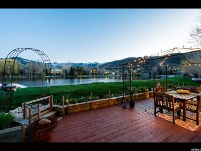 Park City Single Family Home For Sale: 1577 Little Lake Dr