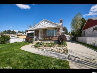 Salt Lake City Single Family Home For Sale: 761 E 4070 S