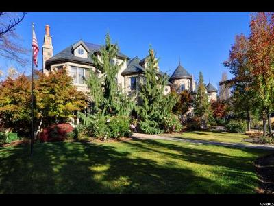Holladay Single Family Home For Sale: 6120 S Verness Cv