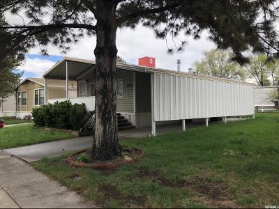 Salt Lake City Single Family Home For Sale: 1580 W Indian Summer Dr N