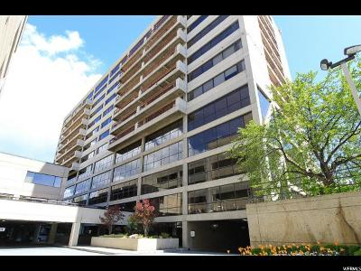 Salt Lake City Condo For Sale: 560 E South Temple #808