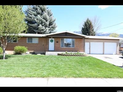 Logan Single Family Home For Sale: 20 N 500 E