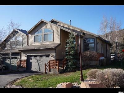 Park City Townhouse For Sale: 7397 Brook Hollow Loop