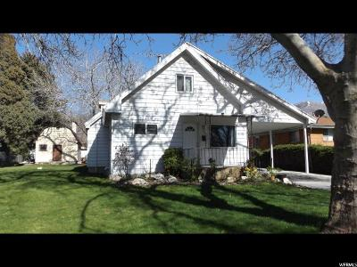 Brigham City Single Family Home For Sale: 313 S 300 W