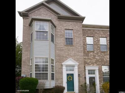 Draper Townhouse For Sale: 14058 S Pepi Band Rd E