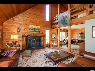 Salt Lake City Single Family Home For Sale: 6654 E Emigration Canyon Rd