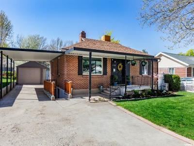 Salt Lake City Single Family Home For Sale: 1524 E 3010 S