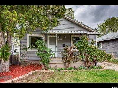 Salt Lake City Single Family Home For Sale: 42 W Van Buren S