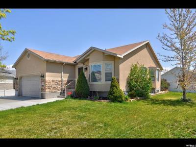 Salt Lake City Single Family Home For Sale: 5385 W Summit Flower Cir S