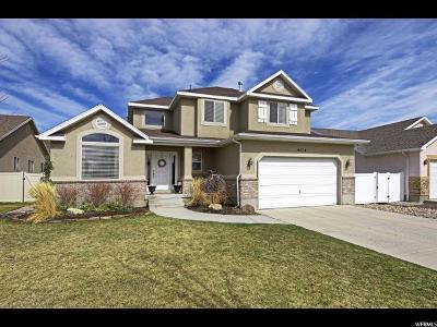 Herriman Single Family Home For Sale: 4614 W Wildcat Ct S