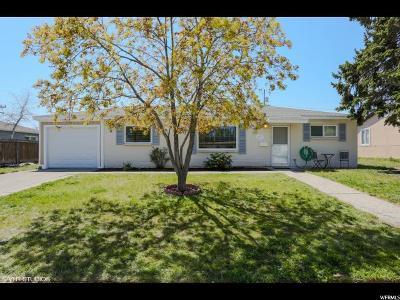 Salt Lake City Single Family Home For Sale: 4575 W 4895 S