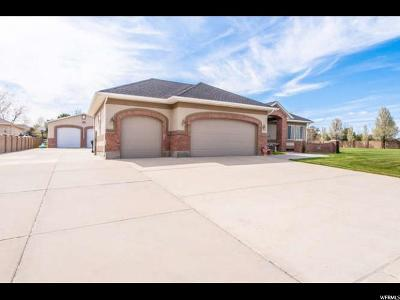 Bluffdale Single Family Home For Sale: 13818 S Wasatch Vista Dr W