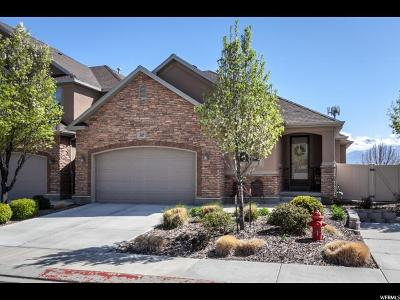 Riverton Townhouse For Sale: 13669 S Mount Cortina Way