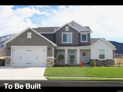 Spanish Fork Single Family Home For Sale: 2961 E 100 N #25