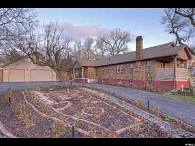 Holladay Single Family Home For Sale: 4255 S 2300 E