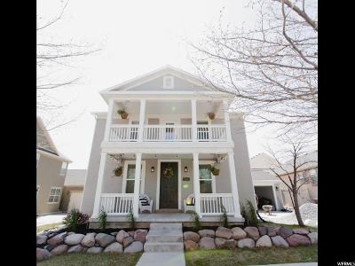 South Jordan Single Family Home For Sale: 11466 S Lookout Hill Dr