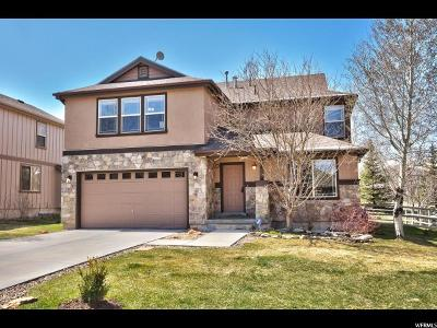 Park City Single Family Home For Sale: 956 E Mountain Willow Ln