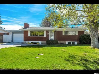 Orem Single Family Home For Sale: 344 S 700 E