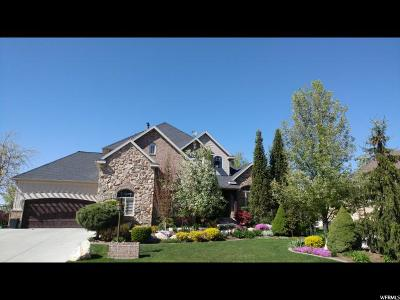 Kaysville Single Family Home For Sale: 129 W Mountain Vistas Rd S