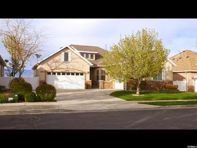 West Jordan Single Family Home For Sale: 1168 W Bateman Point Dr S