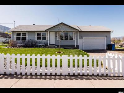 Millville Single Family Home For Sale: 32 W 200 N