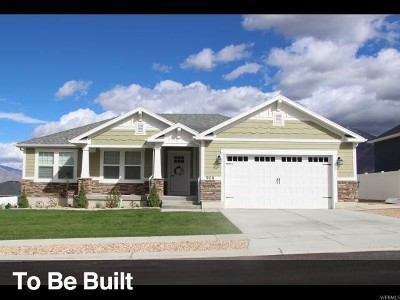 Spanish Fork Single Family Home For Sale: 1293 W 170 S #35