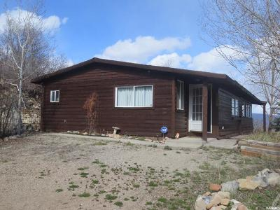 Wasatch County Single Family Home For Sale: 1606 W Spring Ln #120