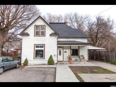 Logan Single Family Home For Sale: 220 N Preston Ave