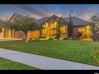 South Jordan Single Family Home For Sale: 3164 W Bison Ridge Rd S