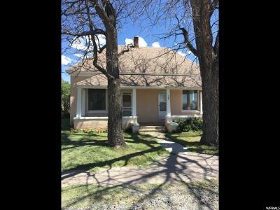 Single Family Home For Sale: 95 S 400 E