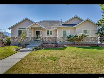 West Jordan Single Family Home For Sale: 4705 W Aire Dr