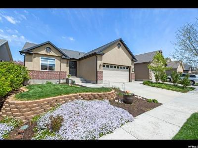 Lehi Single Family Home For Sale: 1366 W 3175 N