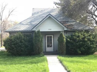 Single Family Home For Sale: 158 E 300 S
