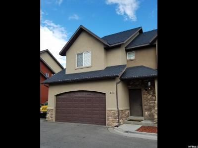 Pleasant Grove Townhouse For Sale: 371 S 930 W