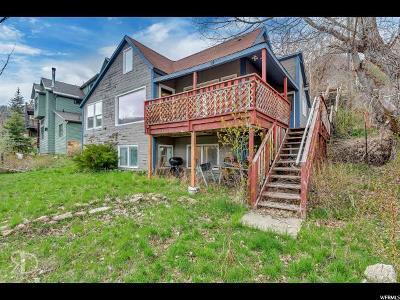 Park City Single Family Home For Sale: 121 Sampson Ave