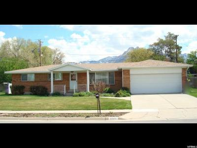 Murray Single Family Home For Sale: 4975 S Pinehill Dr E