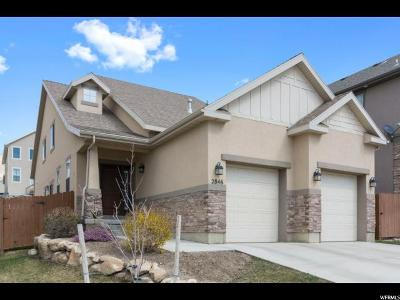 Lehi Single Family Home For Sale: 2846 W Bear Ridge Way
