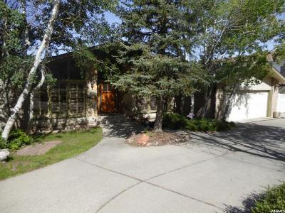Cottonwood Heights Single Family Home For Sale: 8032 S Mountain Oaks Dr