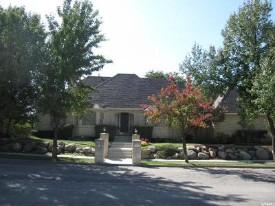 Murray Single Family Home For Sale: 5820 S Majestic Pine Dr E