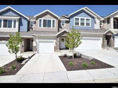 Lehi Townhouse For Sale: 4137 N Cresthaven Ln