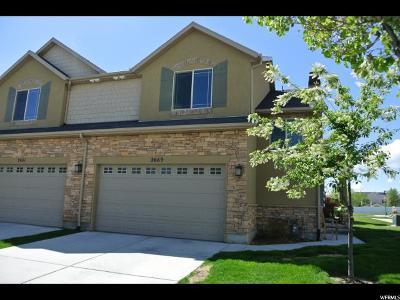 Riverton Townhouse For Sale: 2669 W Mont Sur Dr